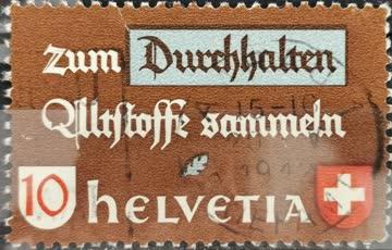 1942 Altstoffverwertung deutsch gestempelt