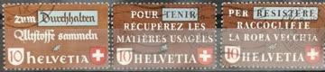 1942 Altstoffverwertung Satz gestempelt