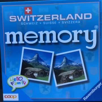 memory Switzerland NEU Ravesburger