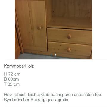Sideboard / Kommode aus Holz