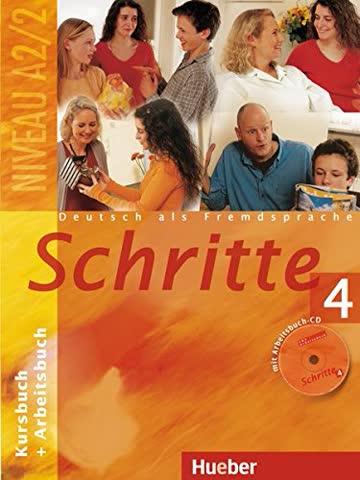 Schritte 4: Deutsch als Fremdsprache / Kursbuch + Arbeitsbuch mit Audio-CD zum Arbeitsbuch