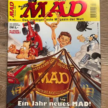 MAD Magazin Nr. 013 (Oktober 1999)