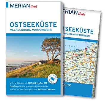 MERIAN live! Reiseführer Ostseeküste Mecklenburg Vorpommern: Mit Extra-Karte zum Herausnehmen