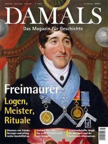 Damals Das Magazin für Geschichte, Freimaurer