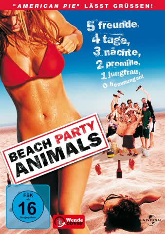 Beach party animals