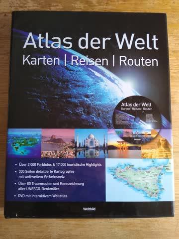 Atlas der Welt - Karten - Reisen - Routen