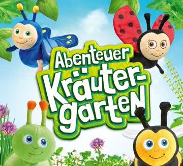 1 Sammelkarte mit 20 Sammelmarken - Abenteuer Kräutergarten