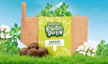 1 Saatkugel-Säckli Kresse - Abenteuer Kräutergarten