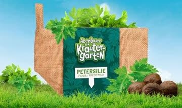 1 Saatkugel-Säckli Petersilie - Abenteuer Kräutergarten