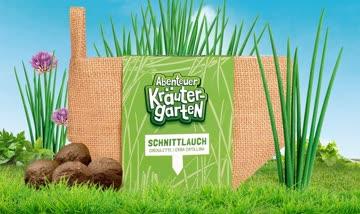 1 Saatkugel-Säckli Schnittlauch - Abenteuer Kräutergarten
