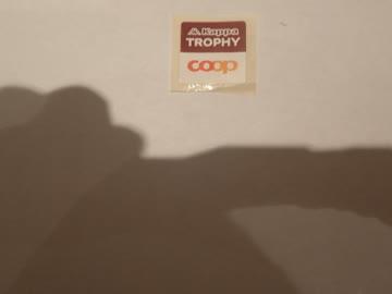 5 Sammelmarken - COOP Trophy