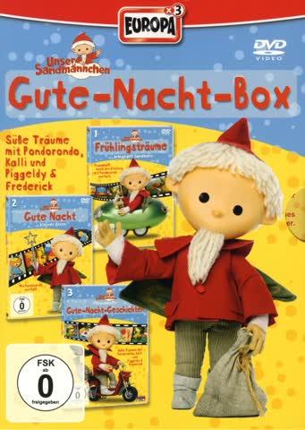 Unser Sandmännchen - Gute-Nacht-Box (3 DVDs)