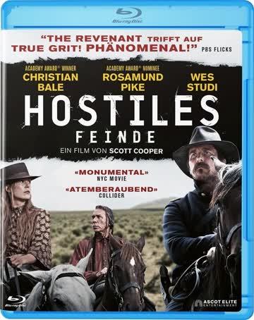 Hostiles / Feinde / Blu-ray / Deutsch und Englisch