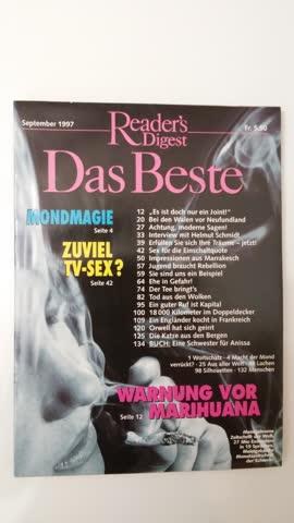 Reader's Digest Das Beste Sept. 1997