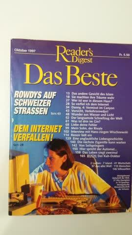 Reader's Digest Das Beste Okt. 1997