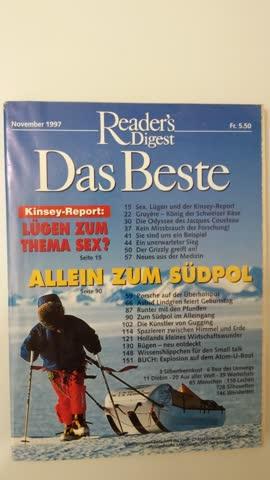 Reader's Digest Das Beste Nov. 1997