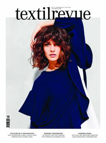 textilrevue Nr. 12/ 11. Oktober 2017