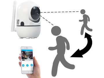 WLAN-IP-Überwachungskamera 360°