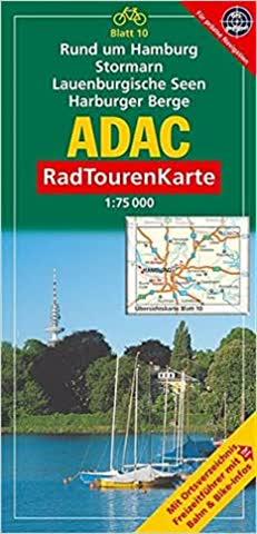 ADAC Radtourenkarte Rund um Hamburg