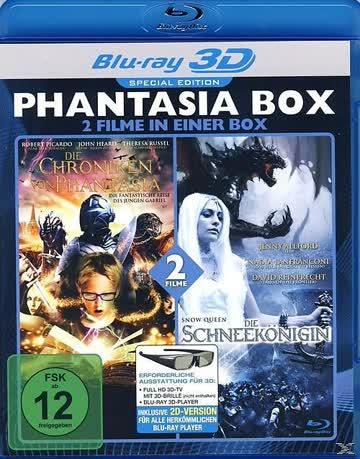 Phantasia Box 3D Die Schneekönigin + Die Chroniken von Phant