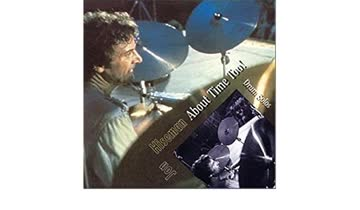 Jon Hiseman - About Time Too! Drum Solos_SIGNIERT