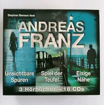 Andreas Franz BOX Spuren - Spiel der Teufel - Eisige Nähe