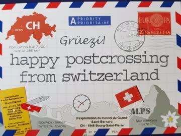 Postkarte HPC (Postcrosser)