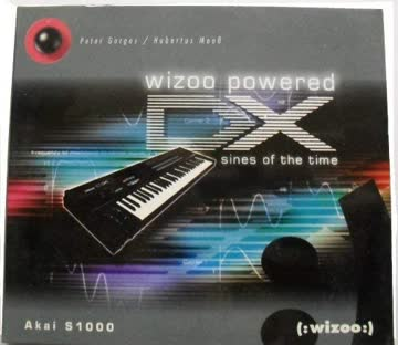 Wizoo powered DX: sines of the time (Sample-CD)