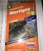 Hallwag Outdoor Map: Martigny