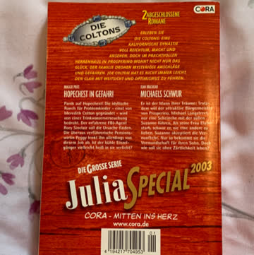 Julia Special 2003 - Die Coltons Band 13 & 14