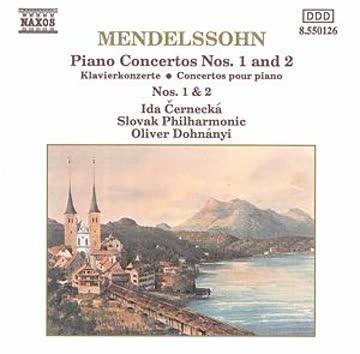 Ida Cernecka - Mendelssohn Piano Cocertos Nos. 1 & 2