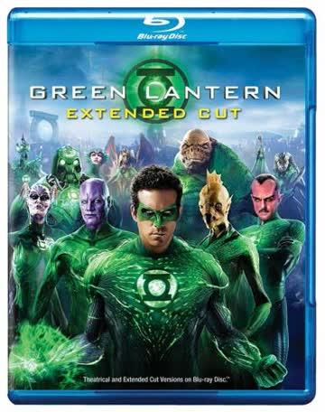 Green Lantern Extended Cut (Blu-ray+DVD)