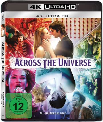 Across the Universe [4K Ultra HD + Blu-ray]