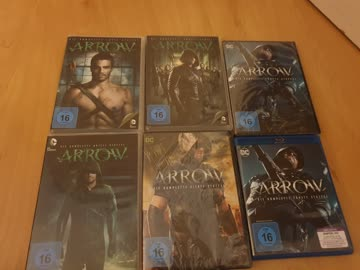 Arrow Staffel 1, 2, 3, 4, 5 Staffel doppelt