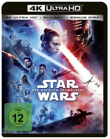 Star Wars Der Aufstieg Skywalkers 4K UHD