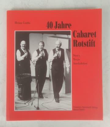 40 Jahre Cabaret Rotstift