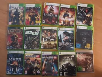 Xbox 360 inkl diversen Games. Top de la Top der Spielära.