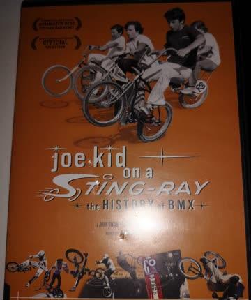 Joe kid on a Sting-Ray the History of BMX