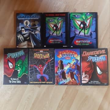 """DVD-Paket """"Superman, Spider-Man, Batman"""" Ländercode 1"""