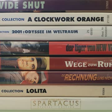 DVD Sammlung STANLEY KUBRICK: 8 Filme
