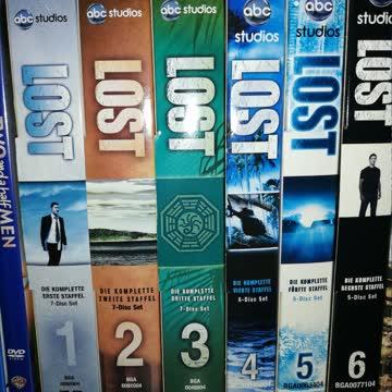 Lost Staffeln 1 bis 4 und 6 (staffel 5 nicht enthalten)