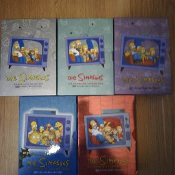 Simpsons Staffeln 1 bis 5