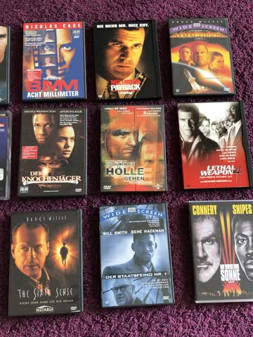 18 DVD / Packet Action