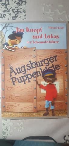 Augsburger Puppenkiste Jim Knpf + Lukas der Lokomotivführer