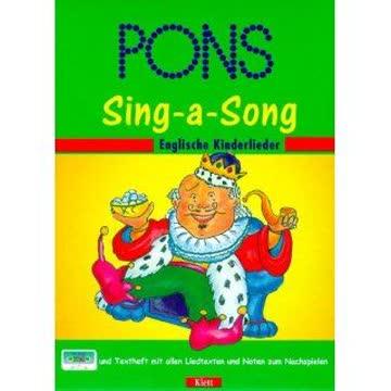 PONS Sing-a-Song Englische Kinderlieder