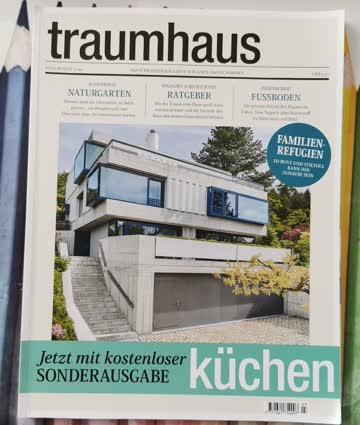 Traumhaus Das Schweizer Magazin für Pläne, Bauen, Wohnen