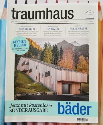 Traumhaus Das Schweizer Magazin für Planen, Bauen, Wohnen