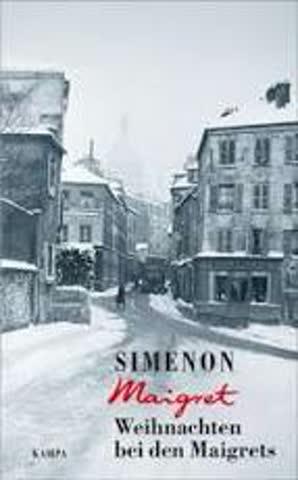 Simenon Weihnachten bei den Maigrets
