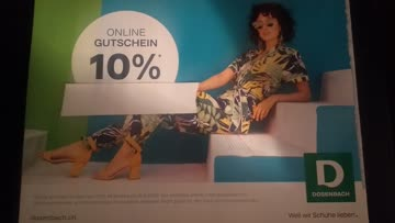 10% Rabatt bei Dosenbach ab 49.90 CHF