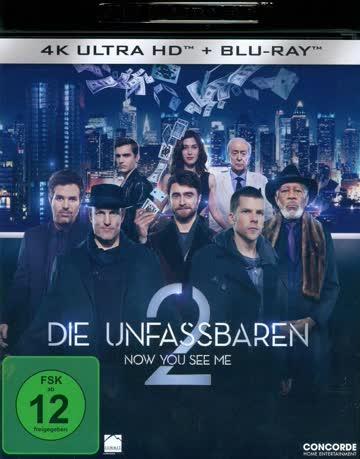 Now You See Me 2 - Die Unfassbaren 2 (4K UltraHD 1 Blu-ray)